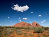 Kata Tjuta, The Olgas in Daylight Photographic Print by Brooke Whatnall