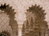 Arches on the Outside of the Mausoleum of Mohammed V Photographie par Abraham Nowitz