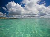 Pristine Turquoise Water Off the Coast of Aruba Photographic Print by Michael Melford