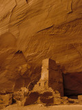 Pueblo Indian Antelope House Ruins at the Base of a Cliff Photographic Print by Ralph Lee Hopkins