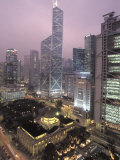 Bank of China Tower and the Financial District Photographic Print by Richard Nowitz