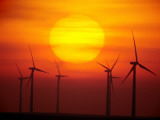 Elk River Wind Project Is a 150 Megawatt Wind Energy Project Photographic Print by Mark Thiessen