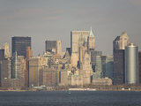 New York City Skyline in the Wintertime Photographic Print by Mike Theiss
