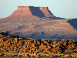Butte Near Goosenecks State Park Photographic Print by Scott Warren