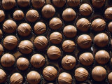 Large Group of Chocolates Which All Look the Same Except for One Photographic Print by Michael Melford