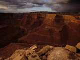 Canyon View from the Edge of a Precipice Photographic Print by Michael Nichols