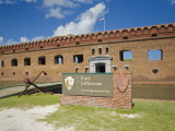 Entrance to Fort Jefferson, at Dry Tortugas National Park Photographic Print by Mike Theiss