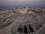 Herodium, King Herod's Fortress, Palace and Tomb Photographic Print by Michael Melford