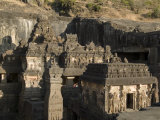 Rock-Cut Kailash Temple Photographic Print by Abraham Nowitz