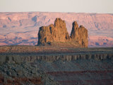 Alhambra Rock as Seen from Goosenecks State Park Photographic Print by Scott Warren