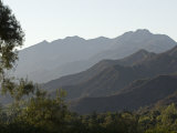 Santa Ynez Mountains and Matilija Canyon, Los Padres National Forest Photographic Print by Rich Reid