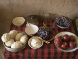 Array of Fruit and Bread Photographic Print by Jim Richardson
