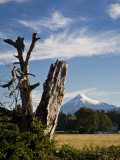 Farms and Mountains Along Puyehue National Park Photographic Print by Richard Nowitz