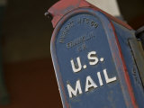 Close Up of an Official U.S. Mailbox Photographic Print by Hannele Lahti