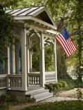 San Antonio, Texas, King Williams Historic Neighborhood Photographic Print by Richard Nowitz