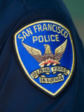 Shoulder Patch of a San Francisco Police Officer Photographic Print by Richard Nowitz