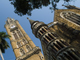 Rajabai Clock Tower at Bombay University Photographie par Abraham Nowitz