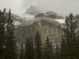 Early Snowfall Dusts Cascade Mountain in Banff National Park Photographic Print by Gordon Wiltsie