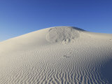 Sand Dunes and Sky at White Sands National Monument Photographic Print by Raul Touzon
