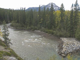 Kananaskis River Flows in Kananaskis Provincial Park Near Calgary, Alberta Photographic Print by Gordon Wiltsie