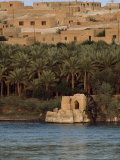 Mid-East Dwellings Viewed from across a River Photographic Print by Lynn Abercrombie