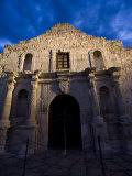 Front Facade of the Alamo Photographic Print by Richard Nowitz