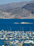 Lake Mead Marina Photographic Print by Richard Nowitz