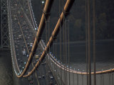 View from the Top of the George Washington Bridge Photographic Print by Michael Melford