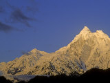 Sunrise on 7150 Meter High Mount Gyala Pheri Photographic Print by Gordon Wiltsie