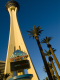 Las Vegas, Nevada, Low Angle View of Stratosphere Tower Photographic Print by Richard Nowitz