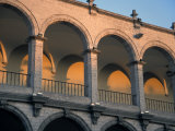 Architectural Detail Along the Plaza De Armas in Arequipa, Peru Photographic Print by Scott Warren
