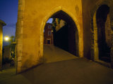 Beautiful, Graceful Archway in the Cliffside Town of Roussillon Photographic Print by Jim Sugar