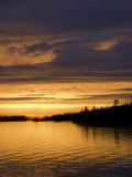 Summer Sunset over Lake of the Woods, Ontario, Canada Photographic Print by Gordon Wiltsie
