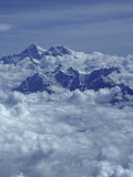 Aerial View of Mts. Everest and Lhotse in the Background Photographic Print by Gordon Wiltsie