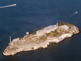 Aerial View of Alcatraz Island Photographic Print by Richard Nowitz