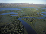 Aerial View of the Pantanal, the World's Largest Wetland Photographic Print by Scott Warren