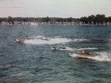 Speedboats Race on the Potomac in the 1936 President's Cup Regatta Fotografisk trykk av Joseph Baylor Roberts