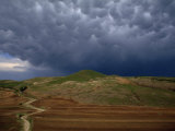 Storm Clouds Evoke the Volcanic Ash Photographic Print by O. Louis Mazzatenta