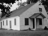View of One of the Oldest Wooden Public Buildings for Worship Photographic Print by Edwin L. Wisherd