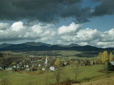 Stowe Sits in a Valley Surrounded by Mountains Photographic Print by Robert Sisson