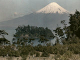 View of the Snow-Capped Mount Osorno Photographic Print by Jacob Gayer