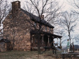 Historic House on the Battlefield of Bull Run Photographic Print by Jacob Gayer