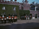 Changing of the Guard at St. James' Palace Photographic Print by Clifton R. Adams