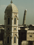 Bell Tower of the Caldean Cathedral Photographic Print by Lynn Abercrombie