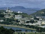 View of Macau Looking Toward Penha Hill Photographic Print by Joseph Baylor Roberts