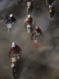 Flat River Grand Prix Motorcross Race Photographic Print by Randy Olson