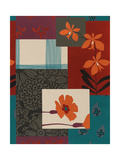Mix of Floral Patterns Posters