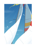 Sailboat Sails Close Up Prints