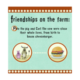 Farm Friendship Prints