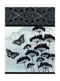 Queen Anne's Lace Silhouettes Posters